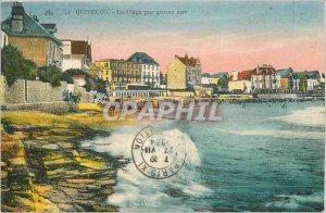 Old Postcard Quiberon Beach by Big Sea