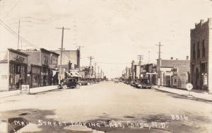 RP:  CANDO , North Dakota  , 10s-20s ; Main Street Looking East