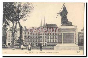 Bayonne Old Postcard Place of Cardinal Lavigerie