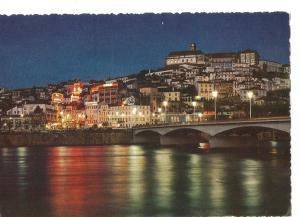 Postal 034682 : Coimbra. Vista parcial de noite