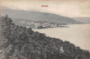 Croatia Lovrana, Lovran, coast general aerial view