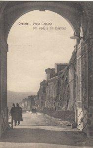 ORVIETO ,  Italy , 1900-10s ; Porta Romana con veduta del Bastioni