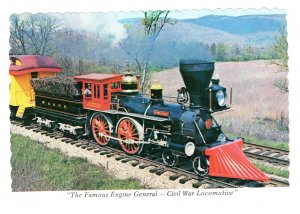 The Famous Engine General Civil War Locomotive, Train