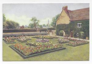 UK England Sulgrave Manor Rose Garden George Washington Ancestry Vtg Postcard
