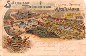 Leipzig Germany Thuringische Ausstellung Leipzig Thuringische Ausstellung