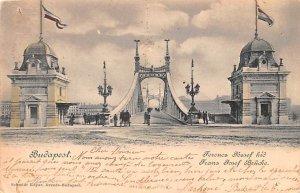 Frans Josef Brucke Budapest Republic of Hungary 1900
