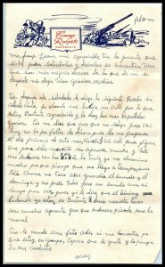 1944 Letterhead - 2 Page Letter, Camp Roberts, California A2