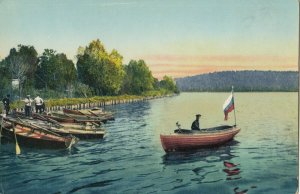 RUSSIA , 1900-10s ; Lac de Seneje , 60 km de Moscou