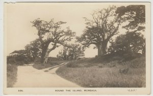 Kenya; Round The Island, Mombasa 535 RP PPC By CD Patel, Unposted, c 1930's