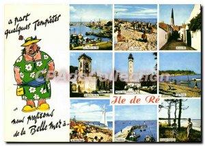 Postcard Modern Ile De Re