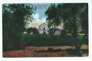 Postcard San Diego Mission Founded 1769 California VPC01.