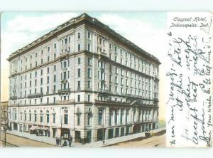 Pre-1907 CLAYPOOL HOTEL Indianapolis Indiana IN Q1854