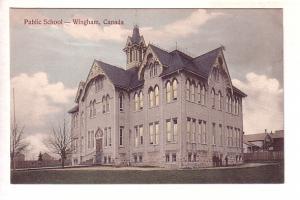 Public School, Wingham, Ontario, Cobb Clark