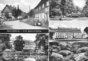 Gaussig Kr. Bautzen Maisons Houses Street Motorcycles