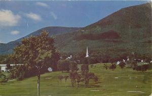 Mt Equinox Manchester Vermont VT pm 1953 Postcard