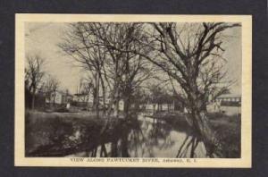 RI River Homes ASHAWAY RHODE ISLAND Postcard Post Card