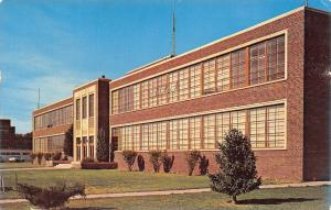 Portales~Eastern New Mexico University~Science Building~1950s Postcard