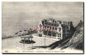 Postcard Old Nice Havrais L & # 39Hotellerie Residence Des Belges Ministries