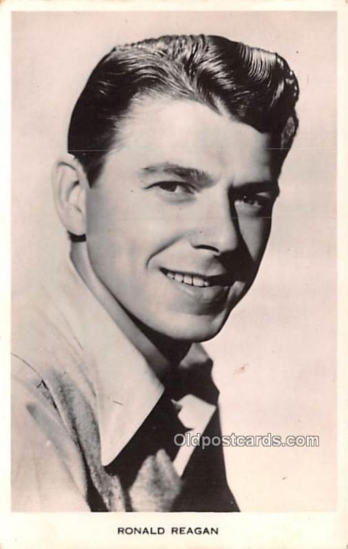 Ronald Reagan Movie Star Actor Actress Film Star Postcard, Old Vintage  Antiqu... / HipPostcard