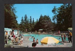 WI Schwartz Resort Hotel Pool ELKHART LAKE WISCONSIN PC
