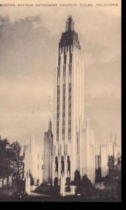 Oklahoma Tulsa Boston Avenue Methodist Church Artvue