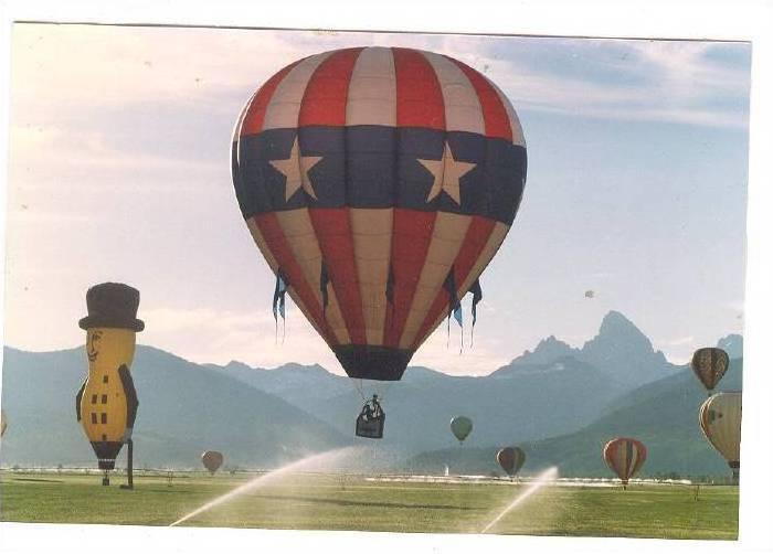 Planter S Peanut Man Hot Air Ballon Ballon Festival Teton Valley