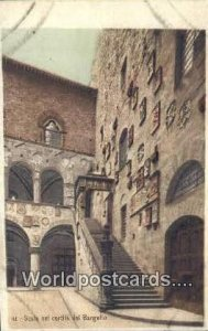 Scala nel Cortile del Bargello, Italy Unused