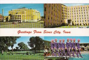 Iowa Greetings From Sioux City