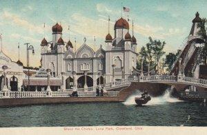 CLEVELAND, Ohio, 1900-10s; Shoot the Chutes, Luna Park
