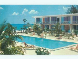 Pre-1980 HOTEL SCENE Grand Cayman Cayman Islands W6067