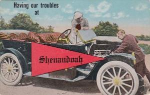 Pennant Series Shenandoah Iowa 1924
