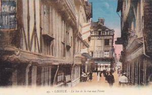 Lisieux (Calvados), France, 1900-1910s; Le Bas de la rue aux Fevres