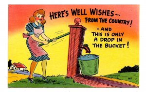 Humor - Well wishes from the country