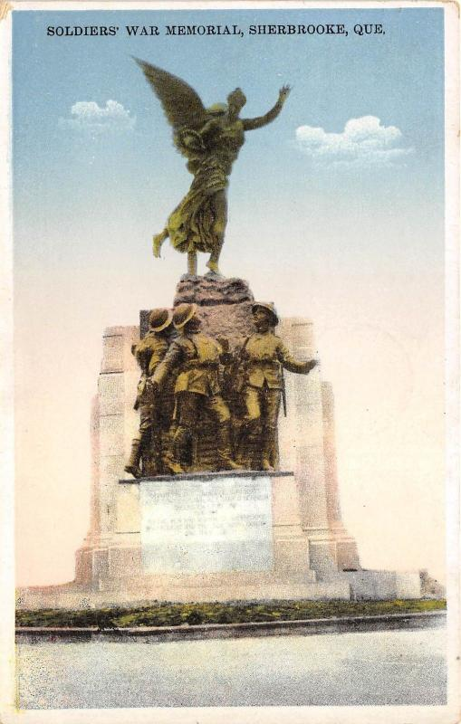 B5171 Quebec Sherbrooke Monument Memorial des soldats