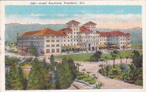 California Pasadena Hotel Raymond 1923