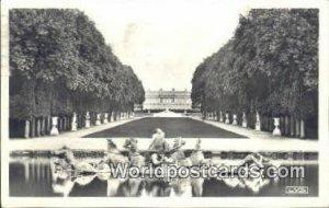 The Park, Royal Avenue & Apoll's Versailles, France, Carte, 1938