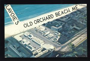 Old Orchard Beach, Maine/ME Postcard, Lavoie's/La Voie's Motel