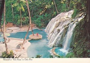 Jamaica Waterfall At The Ruins In Ocho Rios