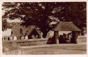 St Brelade's Church Jersey Postcard