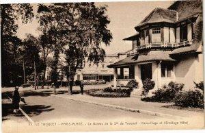 CPA LE TOUQUET-PARIS-PLAGE - Le Bureau de la Ste de TOUQUET (138926)