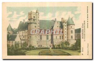 Old Postcard Bourges Cher Jacques Coeur Palace