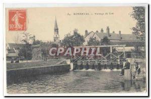 Bonneval Old Postcard Winnowing of the Dormouse