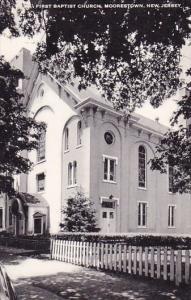 New Jersey Moorestown First Baptist Church