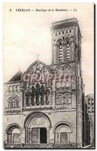 Postcard Old Vezelay Basilica of the Madeleine