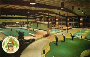 Collinsville Illinois~Holiday Inn~Swimming Pools~Miniature Golf~1950s