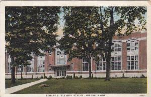 Maine Auburn Edward Little High School 1935