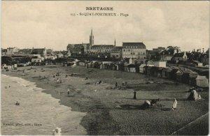 CPA AK St.Quay-Portrieux Plage FRANCE (1139446)