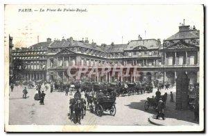 Postcard Old Paris La Place du Palais Royal
