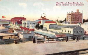 Long Beach California~The Pike~Penny Weight Scale on Boardwalk~Lunches~1908 PC