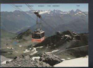 Switzerland Postcard - Davos-Parsenn, Weissfluhgipfelbahn 2846m - T7777
